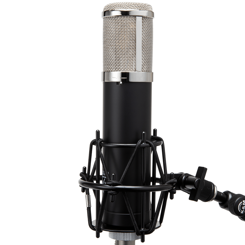 LA-320 in Shockmount on Stand